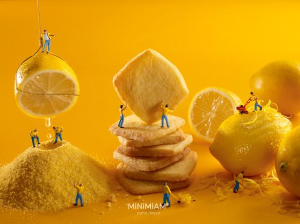 Lemon-shortbread factory