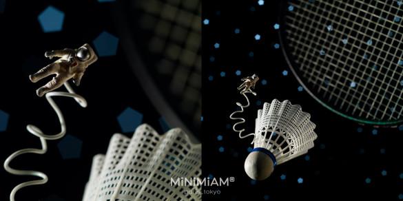 Le Monde mag badminton