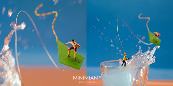 Le Monde mag kite-surf