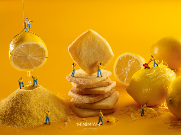 Lemon-shortbread factory